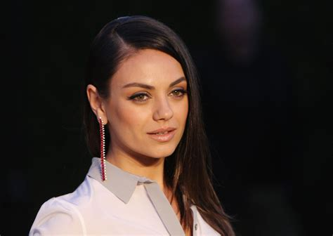Mila Black mila kunis condemns donald we came here on a