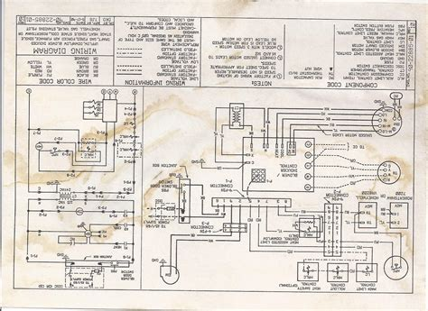 rheem blower motor wiring diagram coleman furnace wiring