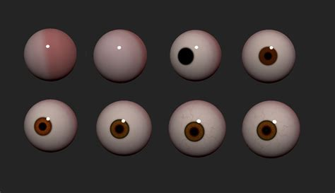 zbrush tutorial eyes 3d tip of the day zbrush eyeball with symmetry by