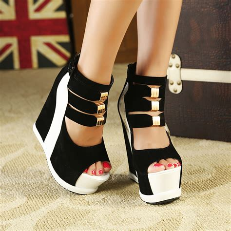 high heeled wedges buy ultra high heels 15 wedges
