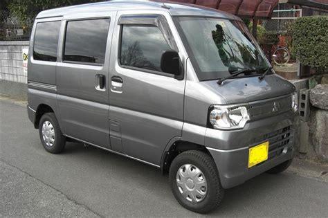 minicab miev mitsubishi car profile black tuned minkara