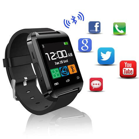 android smartwatch smart u8 bluetooth wrist sport smartwatch for apple android phone pedometer