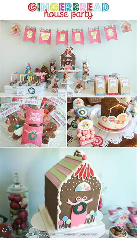 house party ideas kara s party ideas gingerbread house party ideas supplies idea decorations christmas