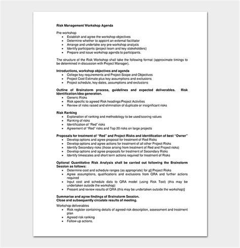 Workshop Agenda Template 20 Docs In Word Pdf Format Workshop Template Doc