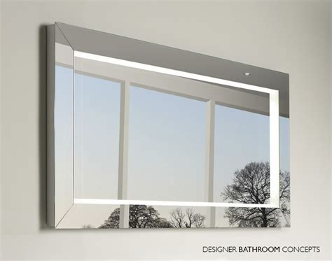 backlit mirrors for bathrooms backlit bathroom mirrors civilfloor