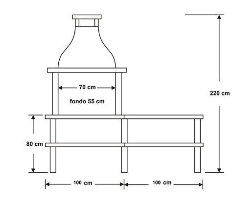 patio interior medidas medidas barbacoa 123 bbq outdoor kitchen design y