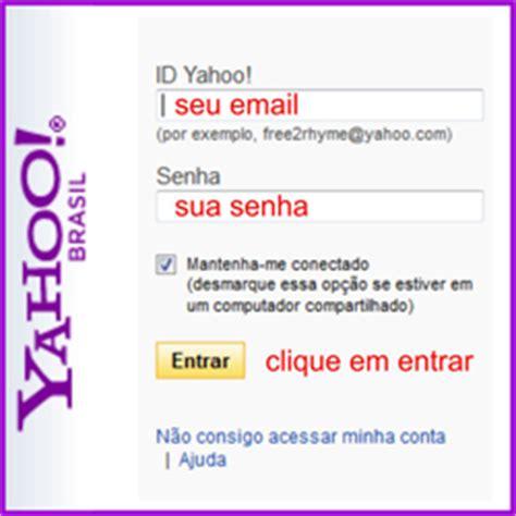 email yahoo entrar login no email do yahoo mail