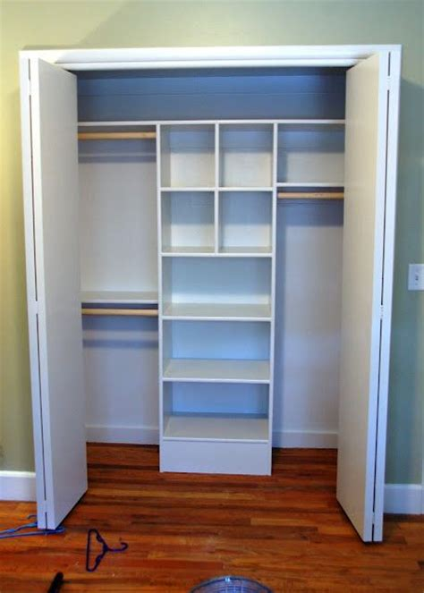 custom closet for cheap and easy organization
