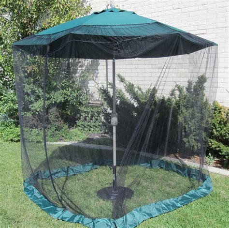 patio umbrella mosquito net shop shade trends mosquito