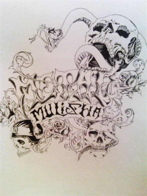 metal mulisha tattoo designs metal mulisha by ashg13 on deviantart