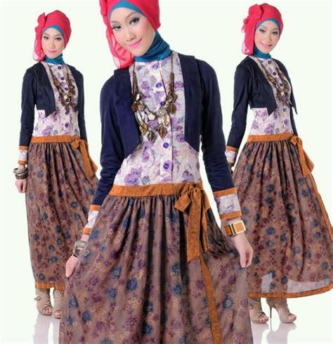 Baju Dan Gaun Anak Batik 10 Tahun Cari Reseller Two Mix 2161 40 gambar desain baju muslim remaja tren 2017