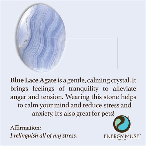 Selenite L Benefits by Blue Lace Agate Discover The Blue Lace Agate