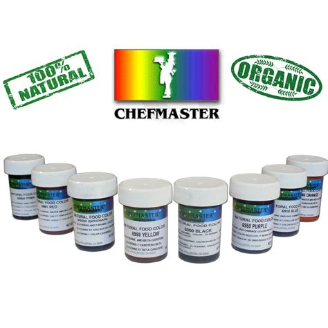 chefmaster food coloring chefmaster food colors 1 ounce jar