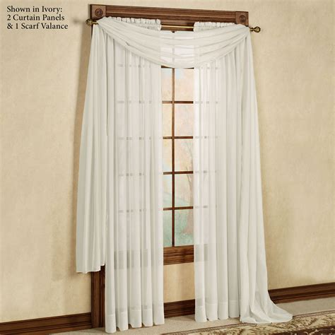 Sheer Window Curtains Elegance Sheer Window Treatments