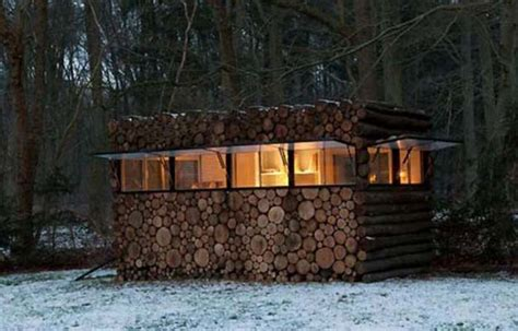 Secret Log Cabins by In Plain Sight Bug Out Cabin Eat Tomorrow