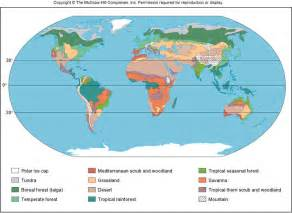 Biomes Of The World Map by Pin Europe Biome Map On Pinterest