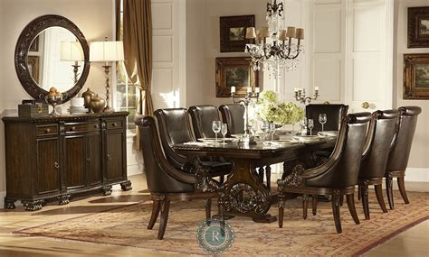 orleans trestle dining room set from homelegance 2168 108