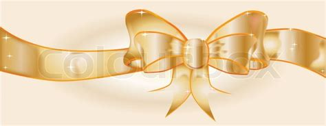 Gs154 Gstring Strapped Front With Ribbon a large silk ribbon into a bow with a gold background supplemented with a few sparkles