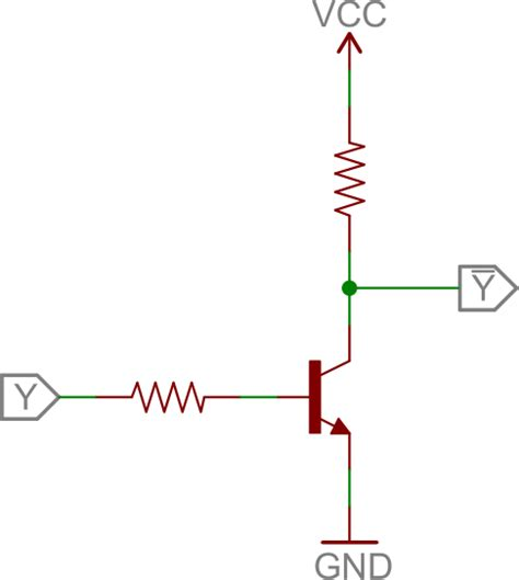 transistor not gate inverter transistors jefrindo