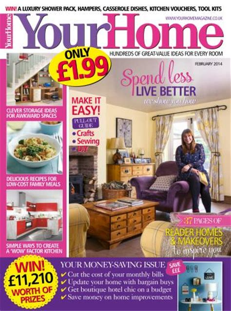 household magazines your home magazine february 2014 subscriptions pocketmags