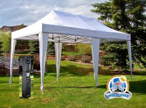 Undercover Canopy Undercover 10 X 20 Hybrid Popup Shade Canopy Package With