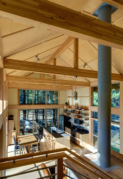 Balance Associates Architects The Method Cabin by Forest Loop Small House Swoon