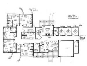 big home blueprints open floor plans from houseplans com
