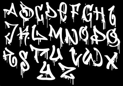 graffiti alphabet  vector art   downloads