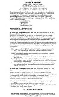 Used Car Sales Manager Sle Resume by Car Salesman Resume Exle 3