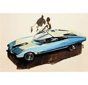 Car Design Sketches From 50's &amp Late 60's – The American