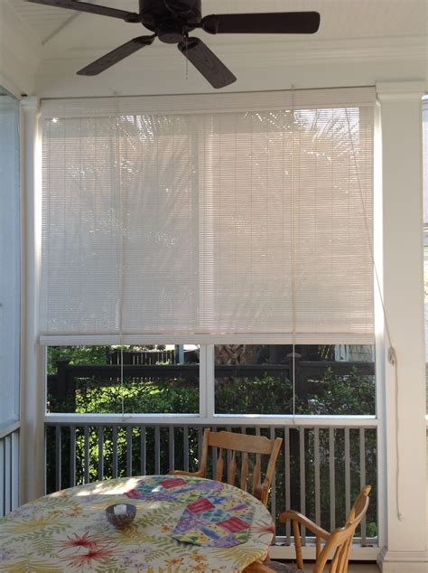 Blinds For Screened In Porch blinds screened in porch shades