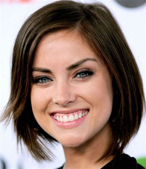 bob haircuts brown hair jessica stroup brunette bob casual everyday