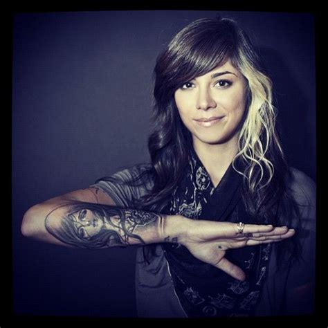 christina perri tattoos perri the and hair skin