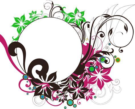 mood frame png images vectors clipart floral flourish frame
