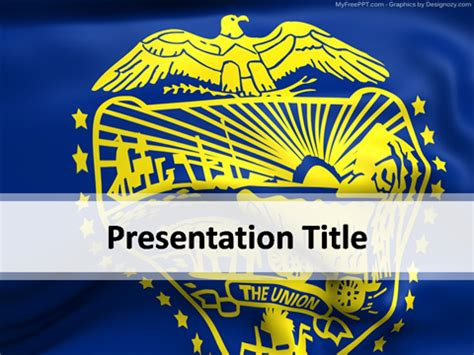 Free Powerpoint Templates Myfreeppt Oregon State Powerpoint Template