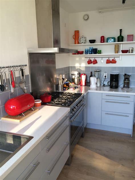 ikea keukens fornuis ikea keuken met smeg fornuis kitchen ideas pinterest