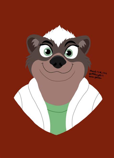 dr madge honey badger disney weasyl