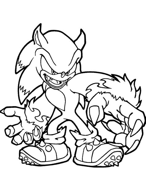 sonic coloring pages free printable sonic the hedgehog coloring pages for