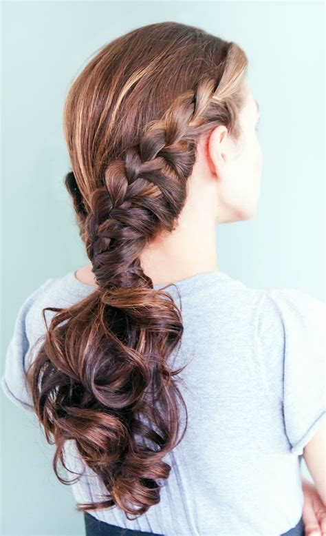 cute hairstyles zipper braid best 20 ponytail with braid ideas on pinterest teased