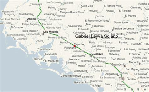 mapa de guasave sinaloa gu 237 a urbano de gabriel leyva solano