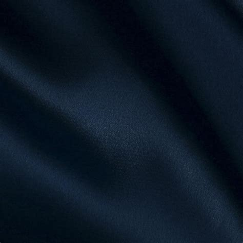 Home Decor Fabric Sale by Stretch Charmeuse Satin Navy Discount Designer Fabric
