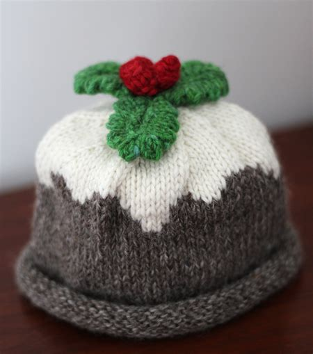 knitting pattern xmas pudding hat christmas pudding organic merino hand knitted baby hat
