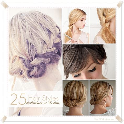 Hairstyles Tutorial by The 36th Avenue 25 Hairstyle Tutorials Extras The