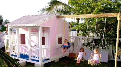 playhouse with swings 17 best images about playhouse swing sets on pinterest