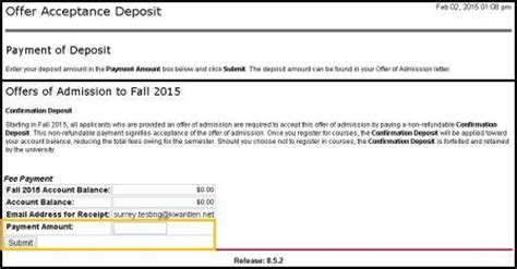 Offer Letter Of Kpu Step 3 Accept Offer Pay Deposit Kpu Ca Kwantlen Polytechnic
