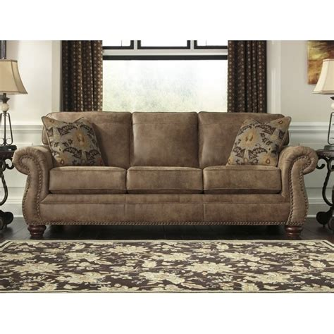 larkinhurst sofa sleeper larkinhurst faux leather size sleeper sofa in