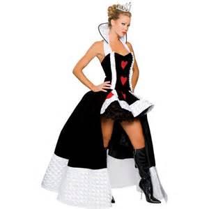 Adult enchanting queen of hearts costume deluxe