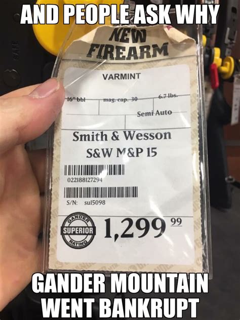 www gander mountain and ask why gander mountain went bankrupt page