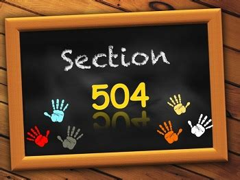 section 504 of ada ada and section 504 student disability rights