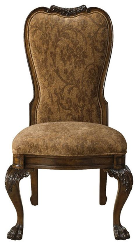 Traditional Dining Chairs by Belvedere Upholstered Back Side Chair Traditional